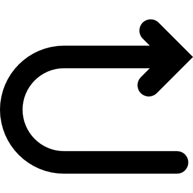 returning-arrow-ios-7-interface-symbol_318-33565
